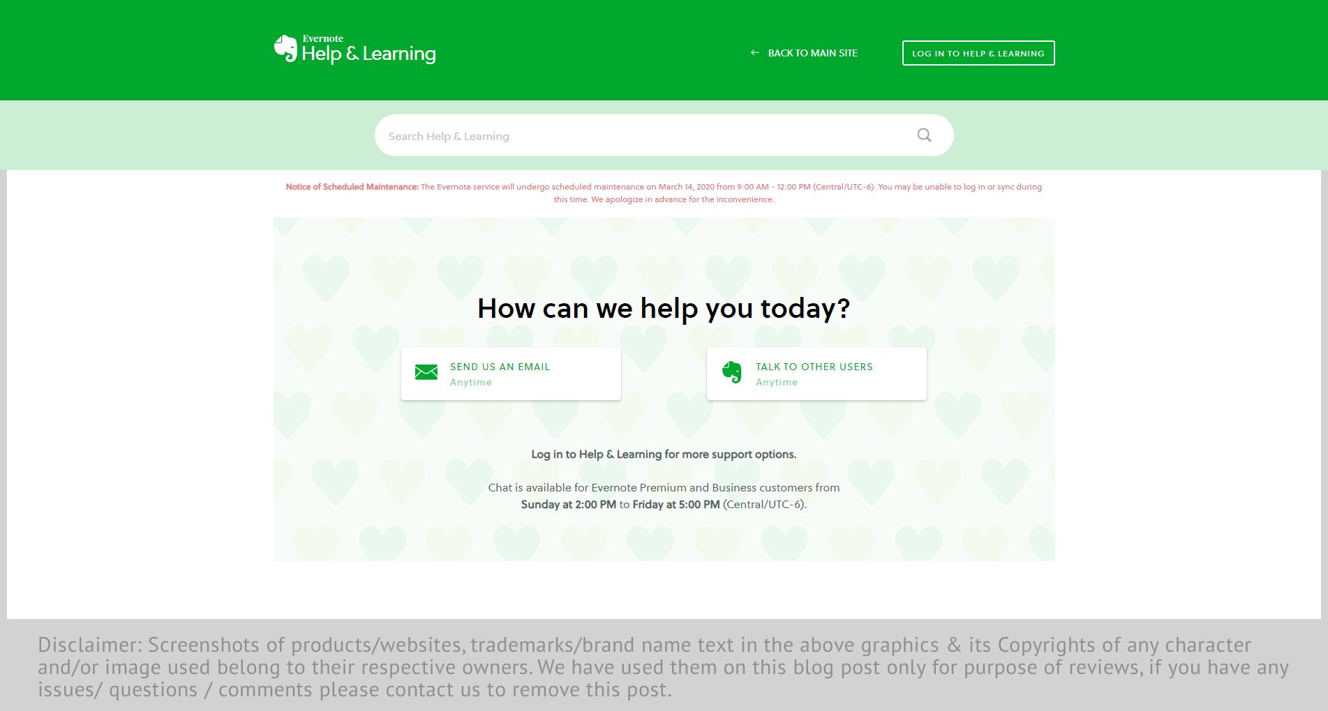 evernote-website