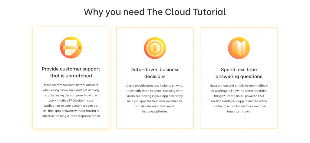 FAQ Software: The Cloud Tutorial