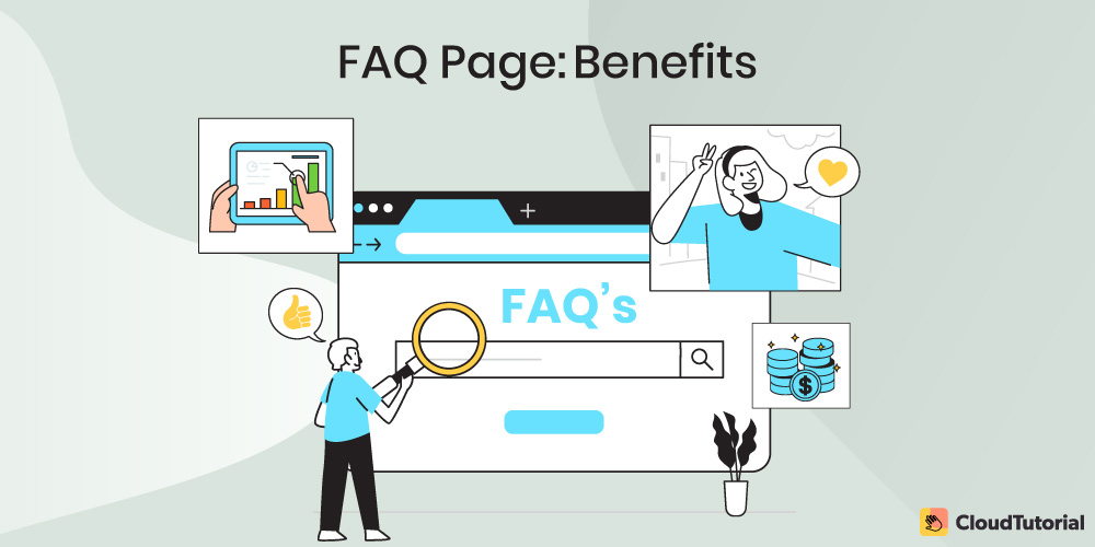 Benefits of FAQ page