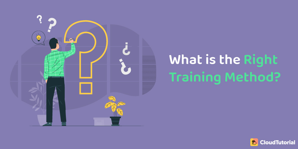 what is the right training method?