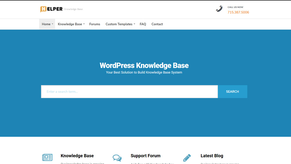 Helper WordPress
