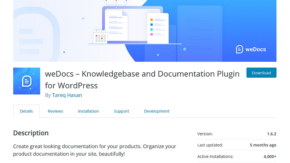 weDocs WordPress
