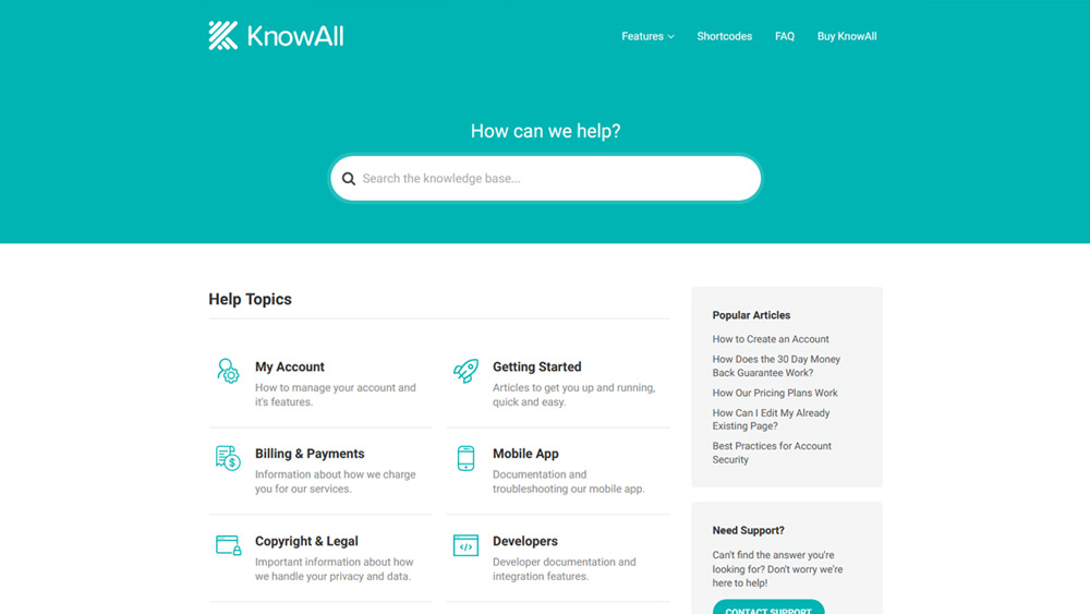 KnowAll WordPress