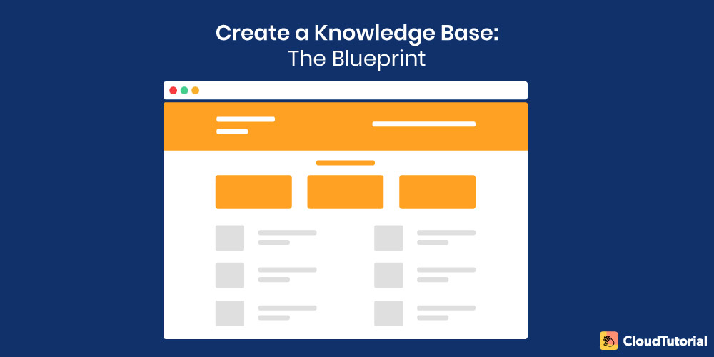 Blue print for creating a knowledge base
