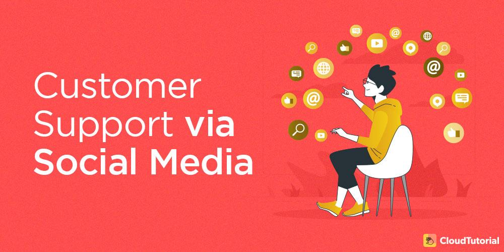 customer support via social media
