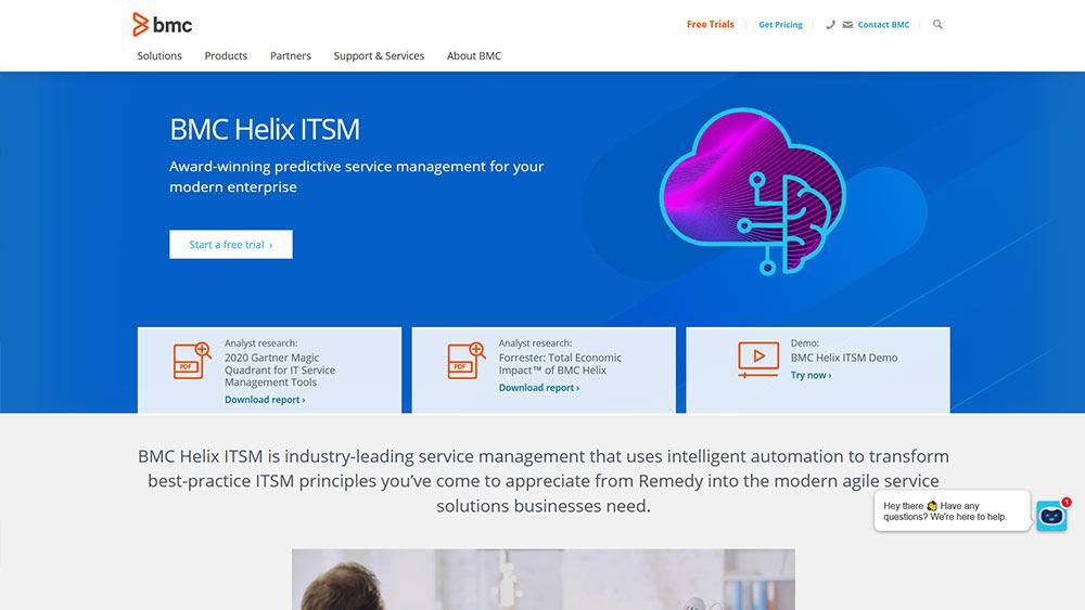 BMC-Helix-ITSM-tool