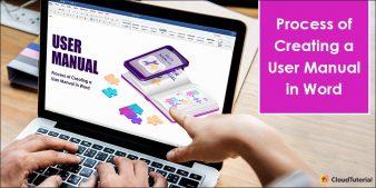 Create a User Manual in Word