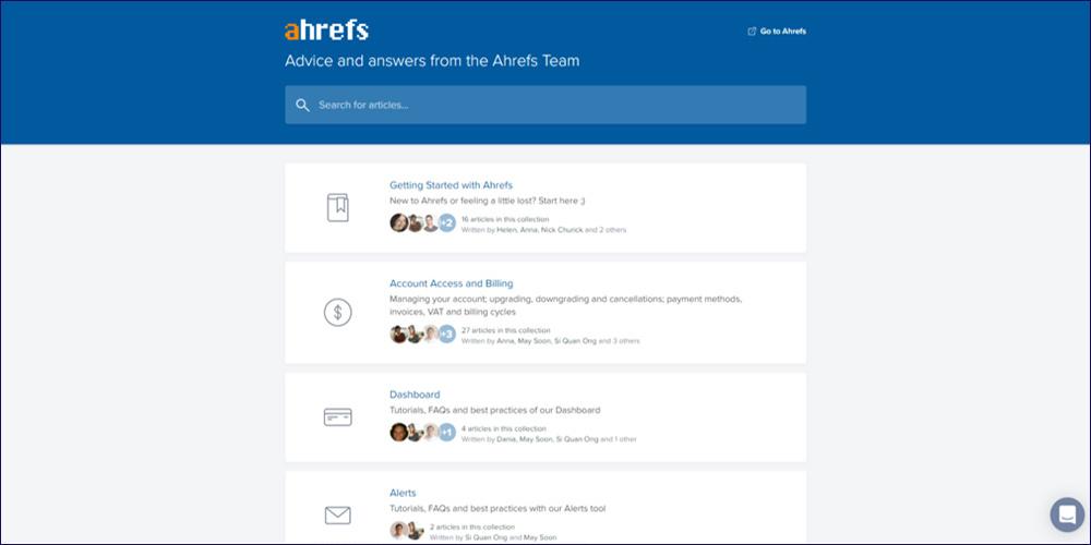 Ahrefs Screen