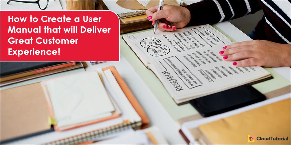 How to Write a User Manual?